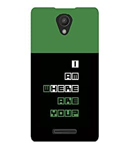 printtech Cool Quotes Back Case Cover for Xiaomi Redmi 3S::Xiaomi Redmi 3::Xiaomi Redmi 3 (3rd Gen)