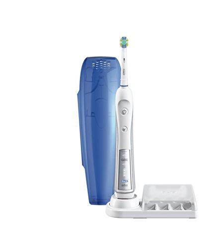 旗舰型号,Oral-B Professional Healthy Clean + Floss Action Precision 5000 专业照顾护士电动牙刷套装