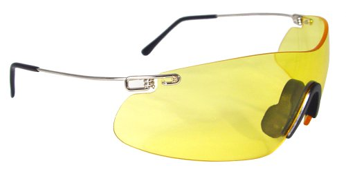 Frameless Shooting Glasses : Radians Clay Pro Eye Protection Glasses (Amber) Sporting ...