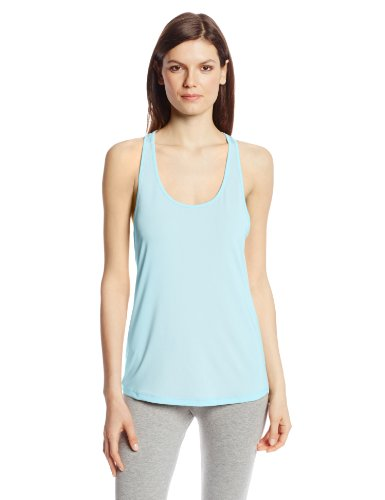 Danskin Women'S Run Singlet, Blue Light, Small