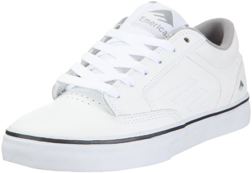 Emerica Men's Jinx Skate Shoe,White/Dark Grey,13 M US