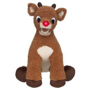 18 in. Rudolph the Red-Nosed Reindeer Stuffed Plush Toy