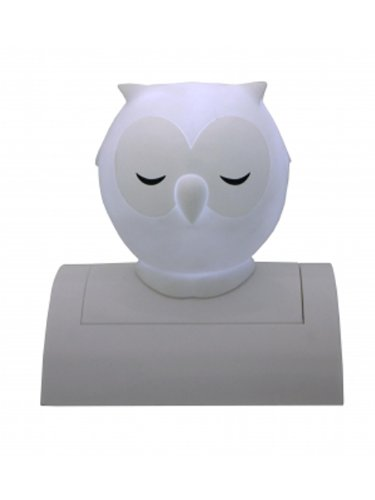 Owl Tap-On Night Light (White)