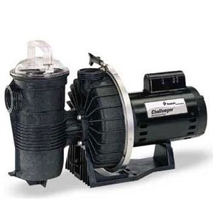 Pentair CHII-N1-1A Challenger Standard Efficiency Single Speed Up Rated High Pressure Inground Pump, 1 HP (High Pressure Pool Pump compare prices)