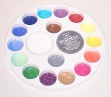 Snazaroo 18 Color Face Painting Wheel for Walk Around Pallet