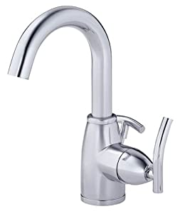 Danze D221554 Sonora Single Handle Lavatory Faucet, Chrome