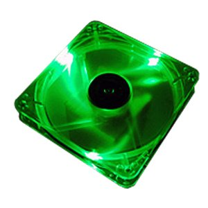 THERMALTAKE THUNDERBLADE LED FAN SYSTEM FAN KIT - GREEN кулер cougar cfd120 led fan green