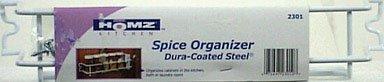 Homz Laundry/Seymour #011232301_I01 White Wire Spice Rack