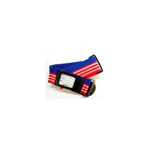スーツケースベルト カラフル アメリカ