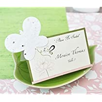 Please Be Seeded Butterfly Plantable Seed Place Cards (set of 12) - Baby Shower Gifts &amp; Wedding Favors