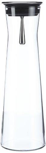 Bohemia Cristal 093 006 103 Karaffe 1100 ml, mit Edelstahlausgießer