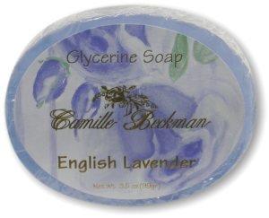 Camille Beckman Glycerine Soap 3.5 Oz, English Lavender