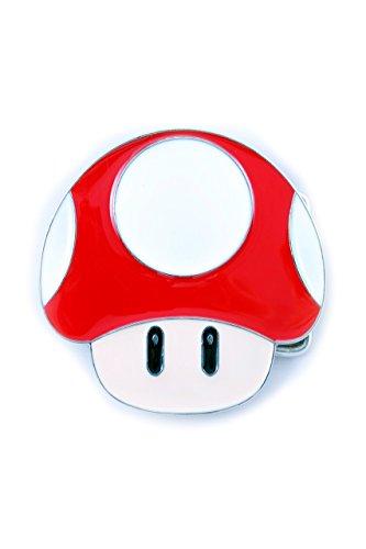 Nintendo, Super Mario Power Up Mushroom fibbia piatta cintura inclusa