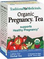 Traditional Medicinals - Pregnancy Tea - Supports Healthy Pregnancy - 16 Tea Bags