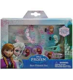Disney Frozen Accessory Set 6pc [Contains 2 Manufacturer Retail Unit(s) Per Amazon Combined Package Sales Unit] - SKU# FZACC