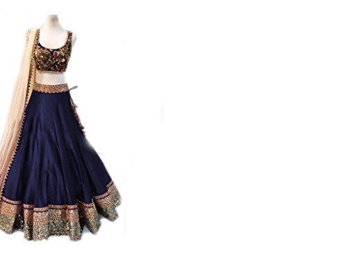 vaankosh-fashion-women-navyblue-cotton-designer-bollywood-style-lehenga-partywear-lehengaheavy-embroidered-lehenga