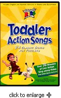 Cedarmont Kids - Toddler Action Songs Dvd