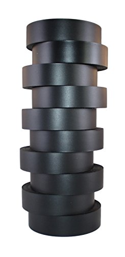 tradegear-black-pvc-electrical-tape-60-foot-roll-10-pack-ul-listed-60-x-3-4-x-007-suitable-for-use-a