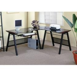 Buy Low Price Comfortable Computer Desk in Cappuccino – Coaster (B0040HFGG2)
