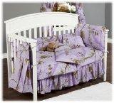 Kimlor Mills Realtree APC 3 Piece Crib Set, Lavender