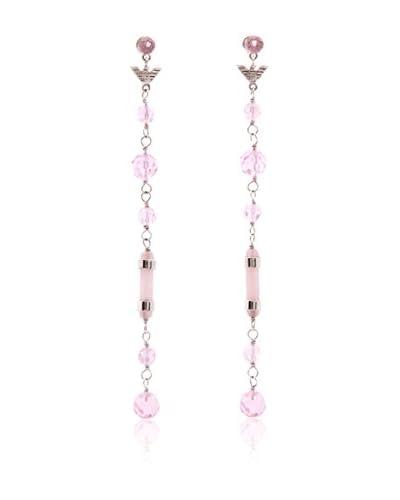 Emporio Armani Pendientes  Plata / Rosa