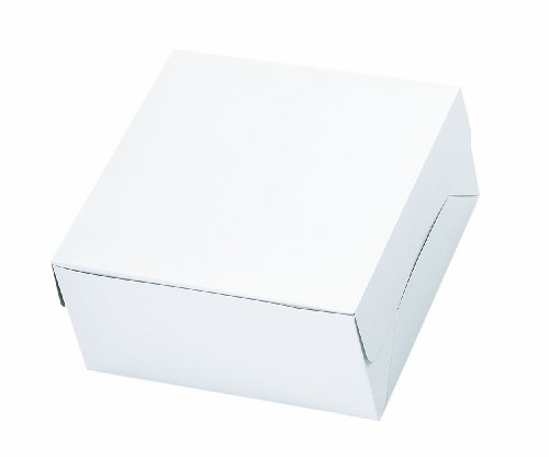 Wilton Plain 12 x 12 x 6 Inch Cake Box - 1
