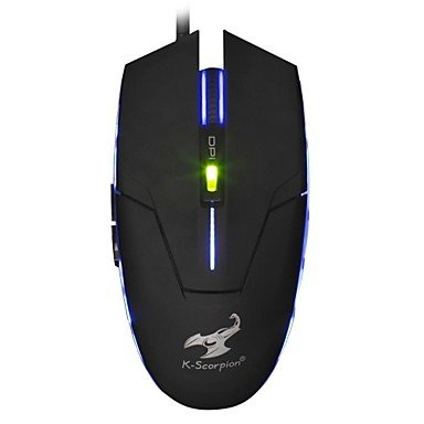 Mch-Sunsonny Sm-8509Ii Usb Wired 1800Dpi Blue Led Color 6 Button Professional 5D Gaming Mouse