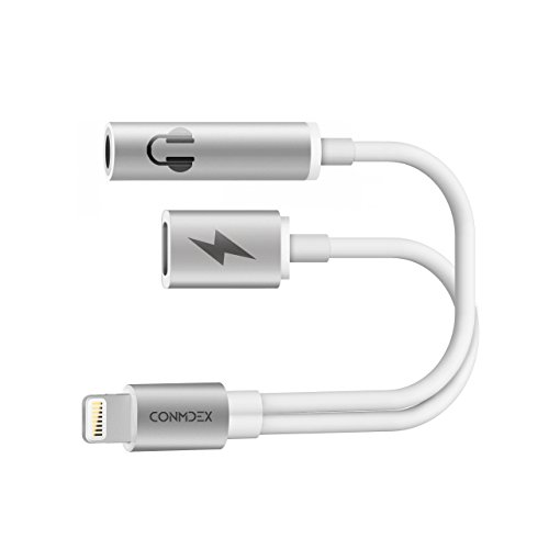 iPhone 2 in 1 Lightning to 3.5mm Audio Charge Headphone Jack CONMDEX iPhone 7 Cable  sc 1 st  New luxury Deals & Belkin Lightning Audio + Charge RockStar for iPhone 7 and iPhone 7 ... azcodes.com