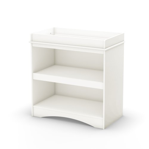 South Shore Peak-a-Boo Collection Changing Table, White