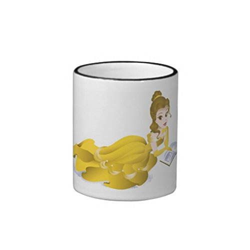 Beauty And The Beast'S Belle Reading Disney Coffee Mugs