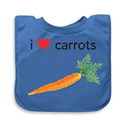 green sprouts\' by i play.\' Carrots Favorite Food Absorbent Bib