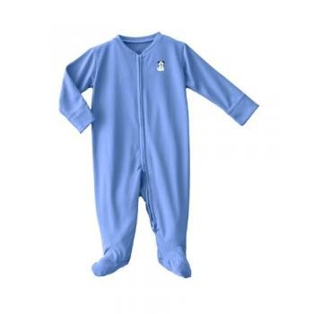 Halo Comfortluxe Coverall Silky, Blue Pup Pals, 3-6 Months