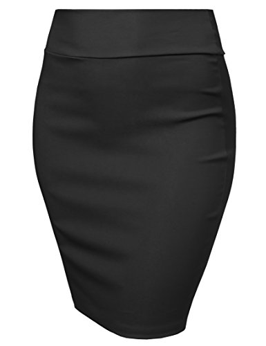 Millemium Twill Pencil Skirt