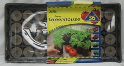 JIFFY TOMATO STARTER GREENHOUSE (Catalog Category: Lawn & Garden: Seed & Soil:SOIL & SOIL AMENDMENTS)