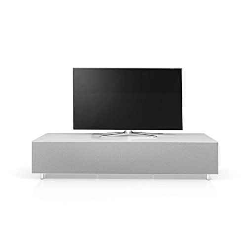 Spectral-Just-Racks-JRL1651S-SNG-SmartTV-Mbel-mit-Soundbar-Integration-Stoff-Front-Glasplatte-wei