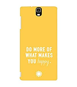 EPICCASE Do what you love Mobile Back Case Cover For Infocus M330 (Designer Case)