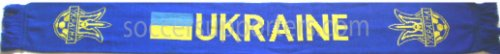 Ukraine Soccer Scarf