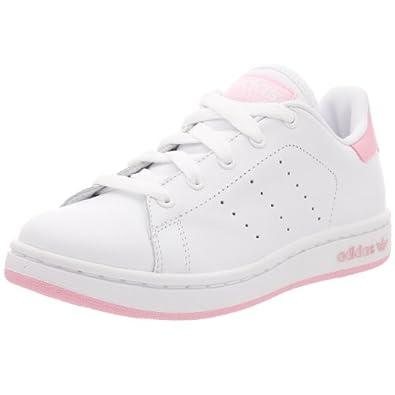 adidas originals ssmith k enfant baskets sneakers blanc. Black Bedroom Furniture Sets. Home Design Ideas