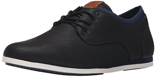 Aldo Men's Erme Fashion Sneaker, Black Leather, 12 D US (Shoes Aldo compare prices)
