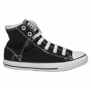 CONVERSE Kids' Chuck Taylor Easy Slip (Black/White 4.0 M)