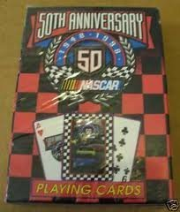 50th Anniversary Nascar Playing Cards: 1948-1998 - 1