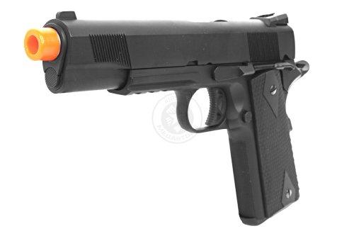 350 Fps We 5.1 Combat Warrior M1911 Metal Gas Blowback Airsoft Pistol