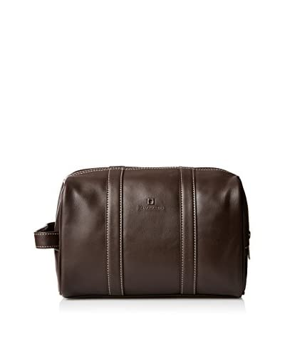 Le Tanneur Men's Trousse Toilette SLG, Marron