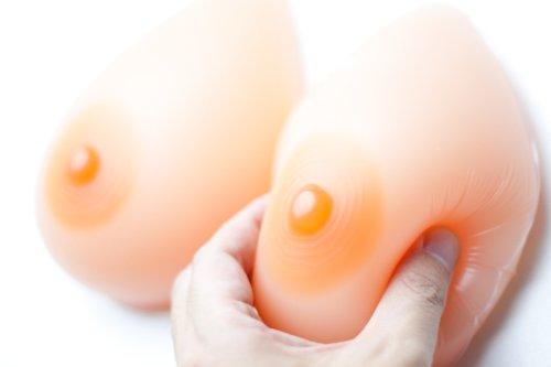 ★誘惑おっぱい★シリコンバスト800g (400g×2個)★C~Dカップ人工乳房女装豊胸SB08