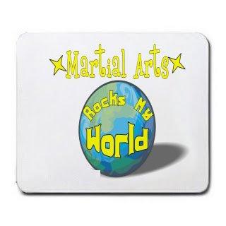Martial Arts Rock My World Mousepad