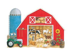 Cheap Constructive Playthings Big Barn Floor Puzzle (B0006VLM32)