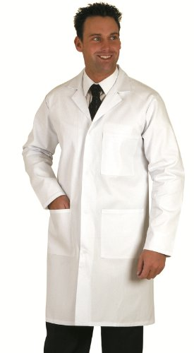 Top Quality Unisex White Lab / Doctors Coat