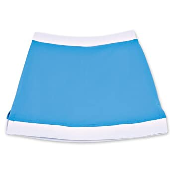 Buy Chez Ami by Patsy Aiken Designs Girls Tennis Skort Blue by Patsy Aiken Designs