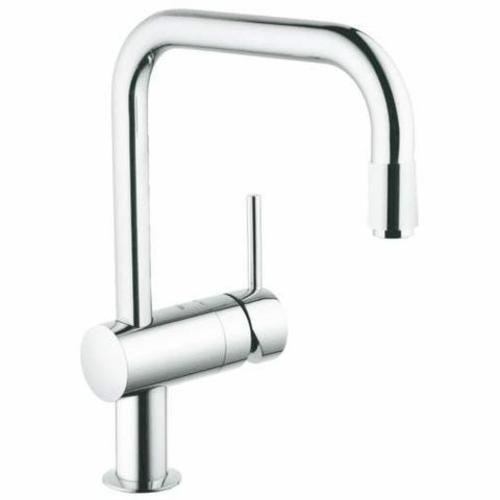 Grohe Minta Metal Kitchen Faucet (Silver, Chrome Finish)
