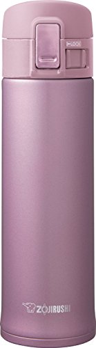 16 OZ, Slick Steel Finish, Compact Design Mug in Lavender Pink (Zojirushi Mug Lavender compare prices)